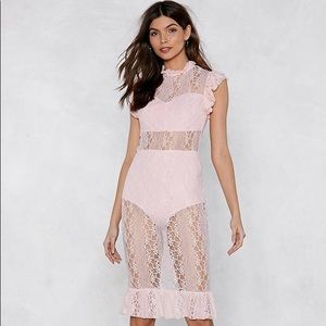 Young and Beautiful Lace Dress
